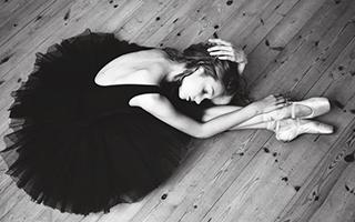 用肖像定义芭蕾舞者