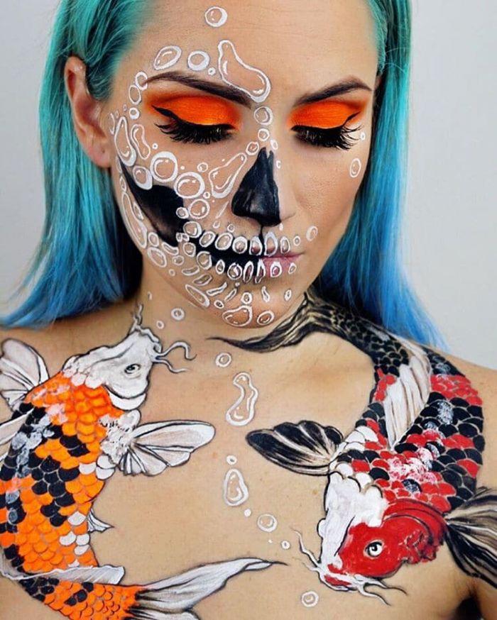 artistic-face-paint-vanessa-davis-the-skulltress-1