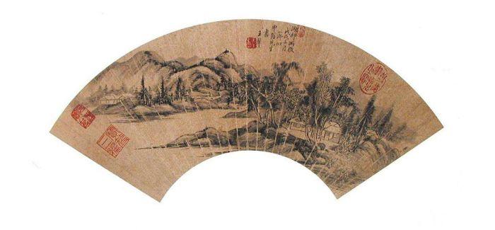 """故宫院藏清初""""四王""""绘画特展 探寻山水路径"""
