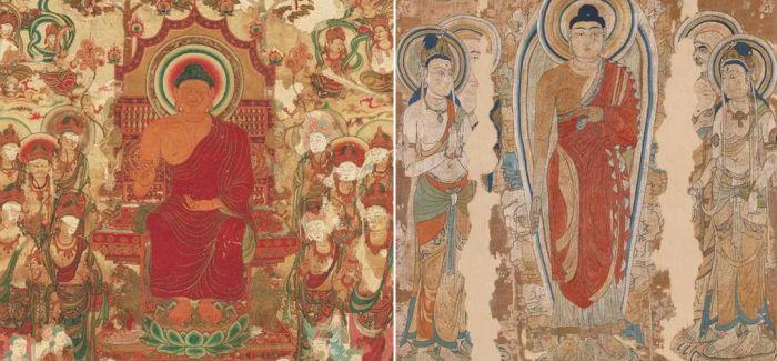 日本古往今来的织成像与绣佛