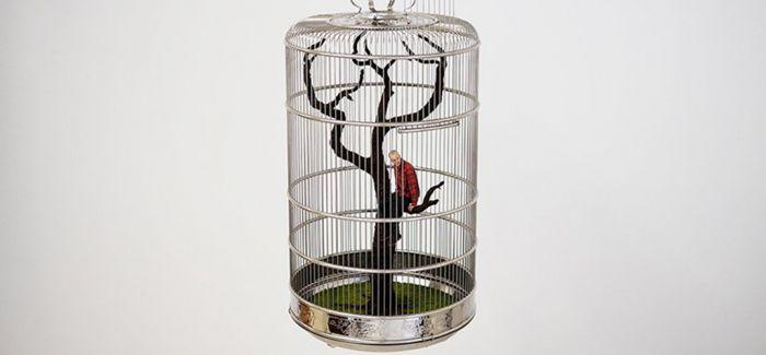 鸟笼里的艺术家