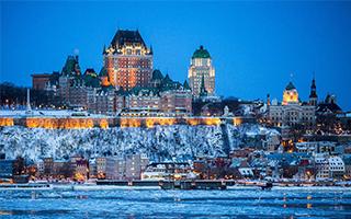 在魁北克度过原汁原味的冬天