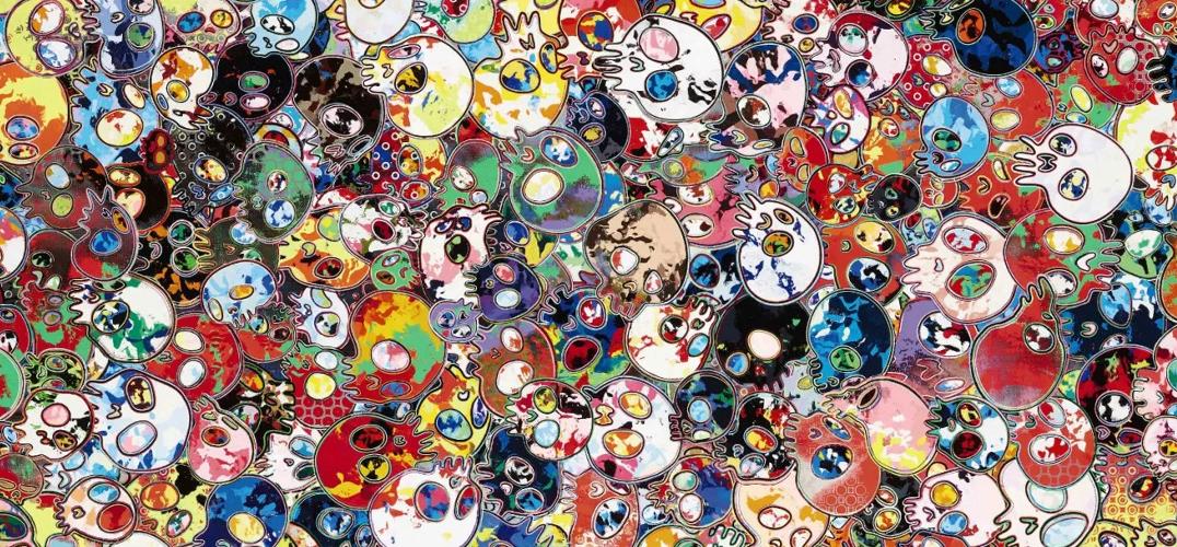 苏富比香港当代艺术晚拍 色彩与抽象的碰撞