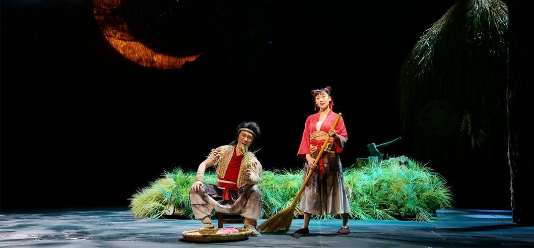 传统题材儿童剧《月亮草》在儿艺剧场上演