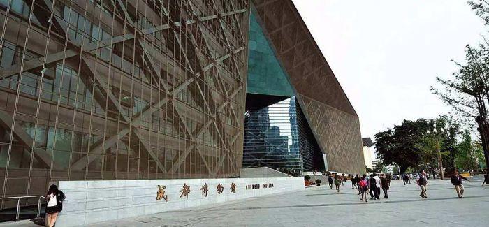 20米《论语》长卷首现成都中阿摄影展和书法展