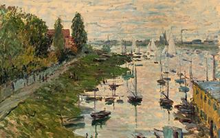 美国印第安纳大学艺术博物馆藏风景画在清华大学展出