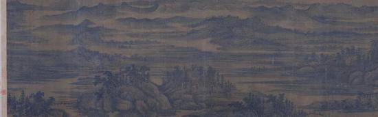 董源《夏山图》卷 上海博物馆藏