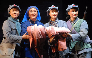 """国家京剧院:""""以传世之心""""打造《红军故事》"""