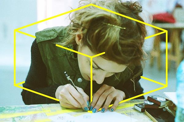 Cristiana Costin:涂鸦出多彩影像