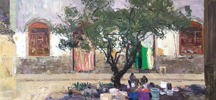 百位油画家黄河行作品展在山西美术馆开展