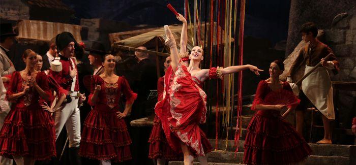 西班牙国家芭蕾团影像展走进上海地铁