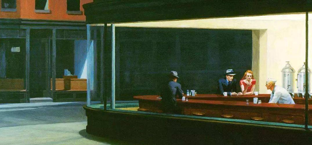 芝加哥艺术博物馆《夜游者》首次在亚洲展出