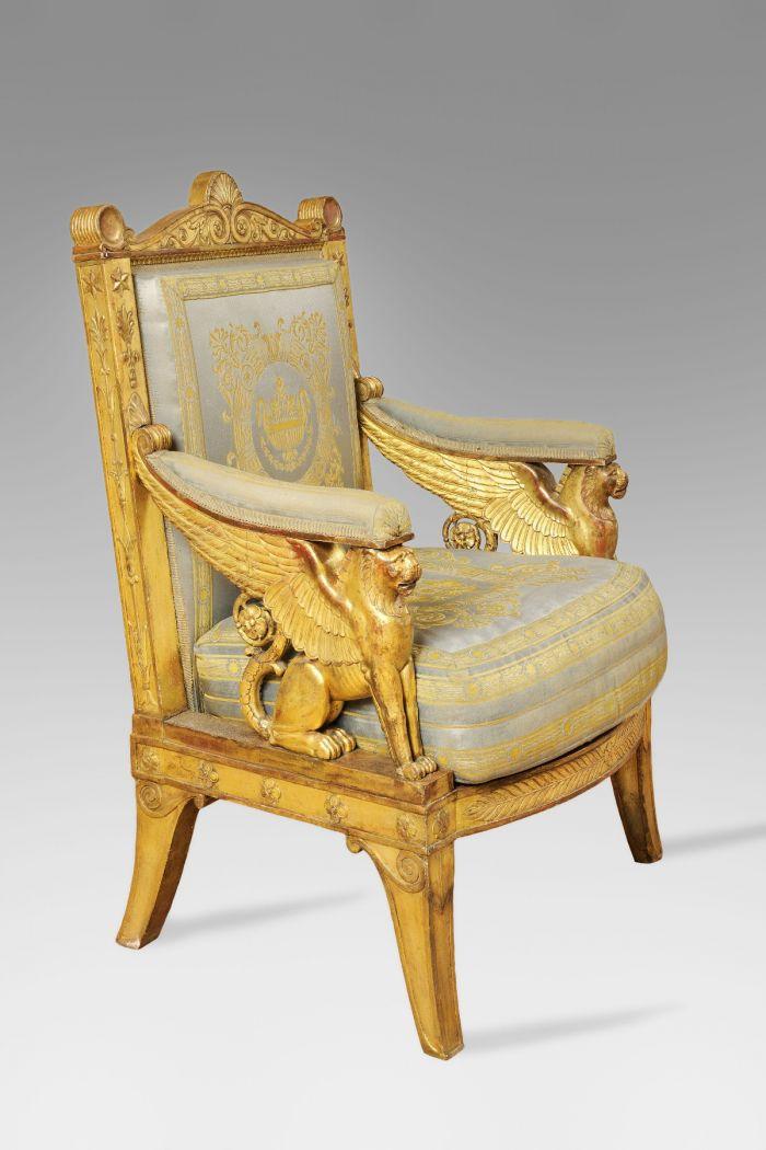 拿破仑在杜伊勒里宫的御用扶手椅