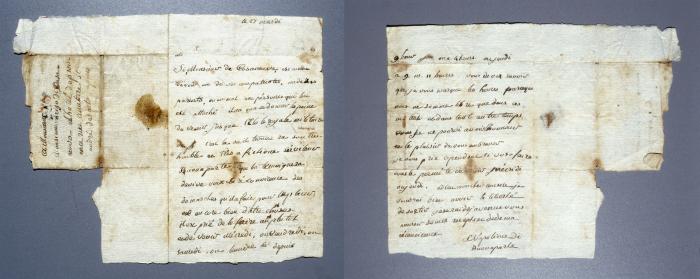 拿破仑14岁手稿