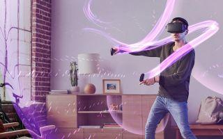 VR动态光影的游戏世界