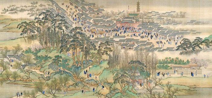《康熙南巡图》在沈阳故宫展出
