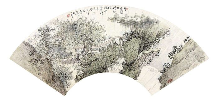 溥心畬《翠岭苍松》登陆中国书画秋拍