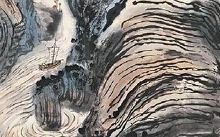 上海中华艺术宫举行钱瘦铁作品展