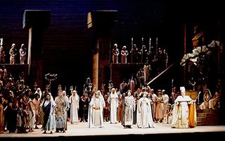 威尔第歌剧《阿依达》再现古埃及爱情史