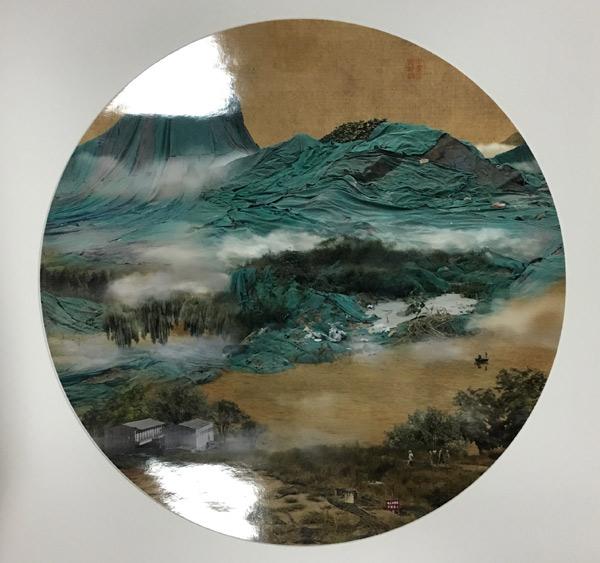 姚璐--中山烟云图--84×83cm--数码摄影--2008