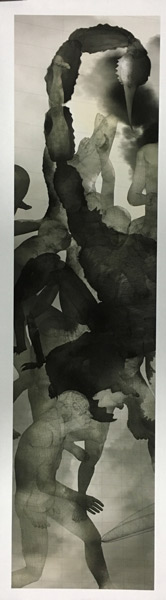 缪晓春--毒--120×30cm--宣纸微喷--2008--Miao-Xiaochun--Poison--120×30cm--Pigment--print-on-paper--2008