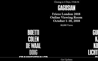 高古轩于2018伦敦Frieze艺术博览会上线线上展厅