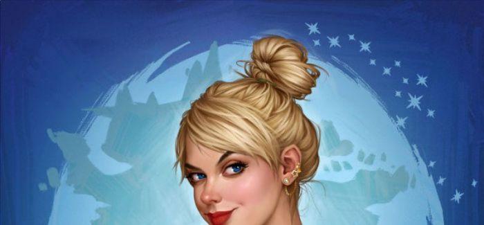 迪士尼公主的日常生活