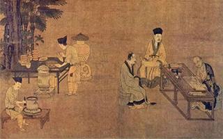 宋明古画中的茶事