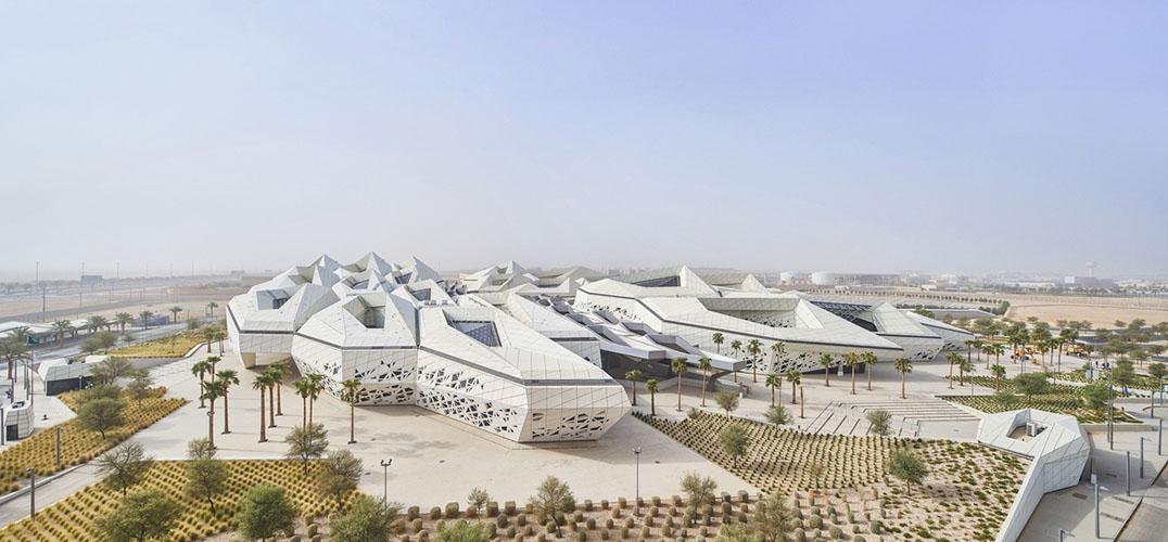 沙漠建筑 荒芜中的美景