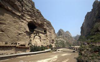 世界文化遗产炳灵寺石窟遭洪灾致多处损毁