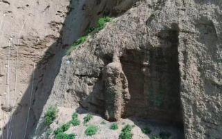 浅析甘肃天梯山石残像