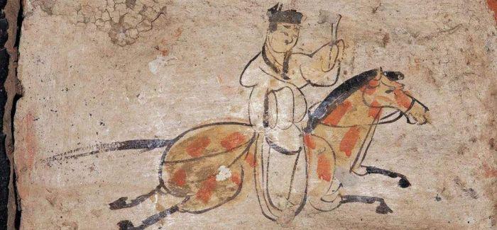 魏晋壁画砖《驿使图》亮相长城文化展