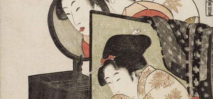 歌麿浮世绘《艺妓读信》亮相大英博物馆