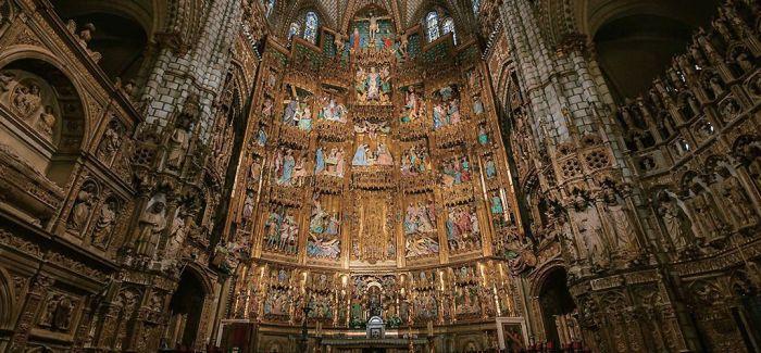 托雷多圣玛利亚主教堂 :宗教融合的精神殿堂