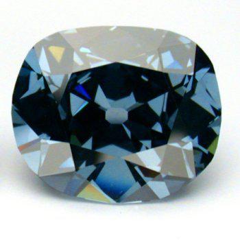 希望蓝钻(Hope Diamond),重45.52克拉(9.1克)、颜色分级为深彩灰蓝、净度等级为VS1,折算成今年的市值,大约值2亿美元到2.5亿美元之间。