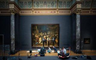 荷兰国立博物馆将公开直播伦勃朗《夜巡》