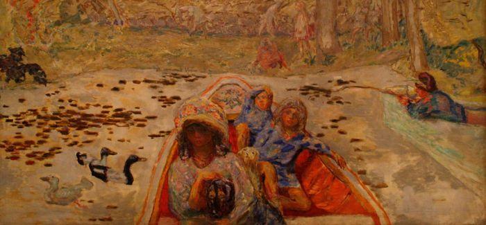 纳比派画家皮埃尔・博纳尔