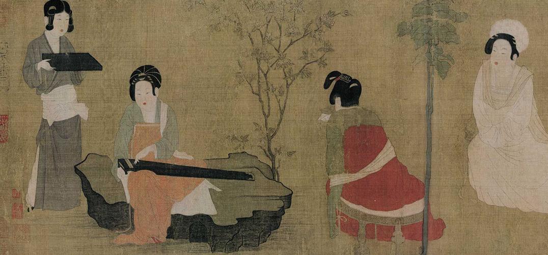从清代仕女画看当时文人理想中的女性