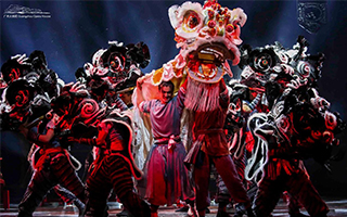 民族舞剧《醒·狮》:醒狮醒国魂 击鼓振精神