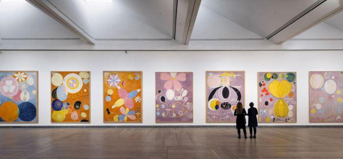 古根海姆博物馆首次举办希尔马·阿夫·克林特个展