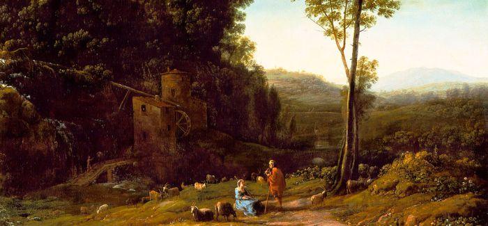克罗德·洛林的乡情 一幅充满诗意的风景画