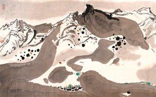 中国画继承与创新的40年