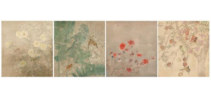 江宏伟:中国工笔花鸟代表人物