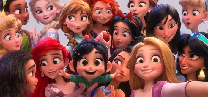 《无敌破坏王2》迪士尼公主的3D历程