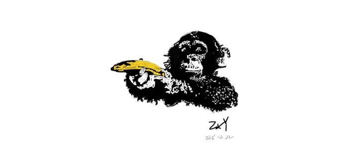"Banksy的""悲剧"":作品毁一半 价格翻一翻"