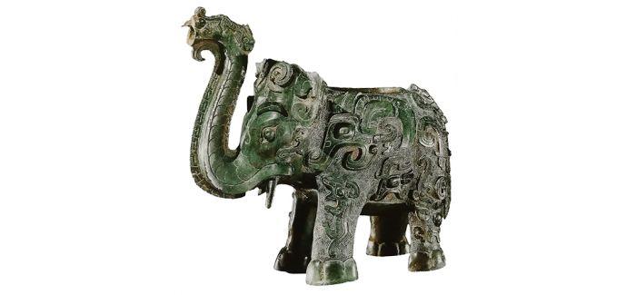 青铜象尊中的华夏文明