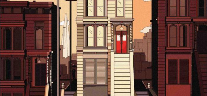 城市建筑下的超现实世界