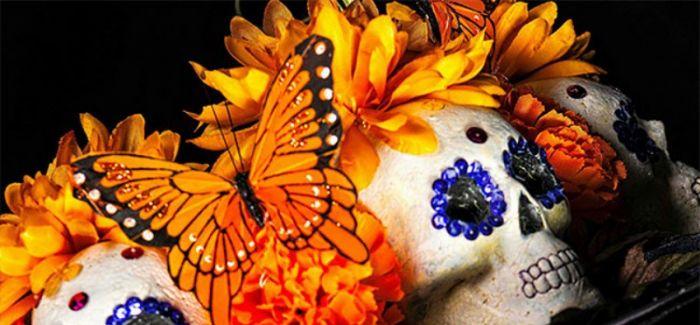 墨西哥亡灵节上的彩妆
