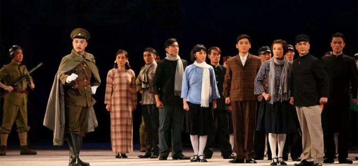 京剧《西安事变》上演浦东文化艺术节