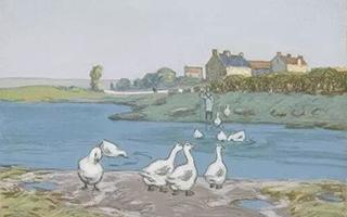 阿尔弗雷德·西斯莱画中的灵动与思考